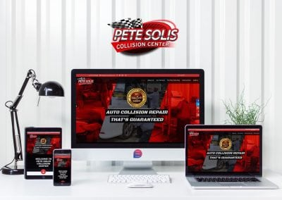 Pete Solis Collision Web Design